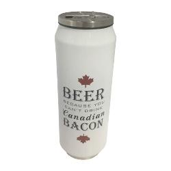 Bouteille thermos Bière et Bacon