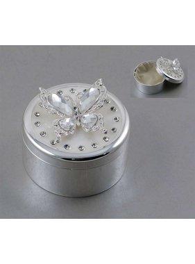 Boîte Bijoux Papillon Crystal