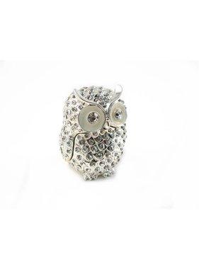 Boîte à bijoux Hibou de Crystal