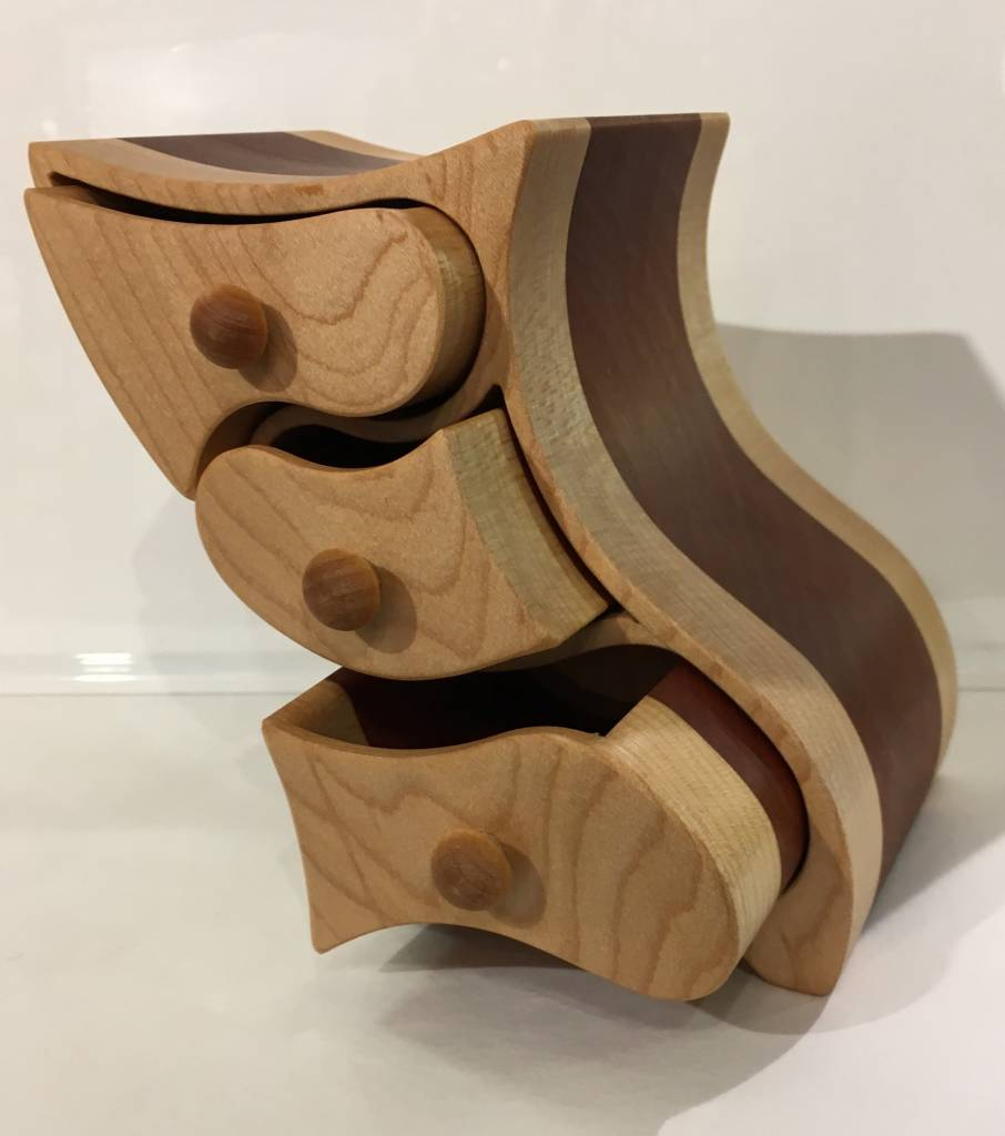 "Exotic wood jewel box ""MADA"" collection"