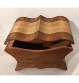 "Exotic wood jewel box ""TABWA"" collection"