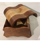 "Exotic wood jewel box ""POKOMO"" collection"