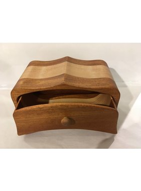 "Exotic wood jewel box ""HEMBA"" collection"