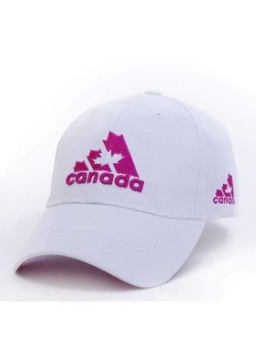 CASQUETTE DE BRODERIE 3D BLANC / ROSE CANADA ADIDAS