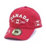 MAROON CANADA CLASSIC 3D EMBROIDERY CAP