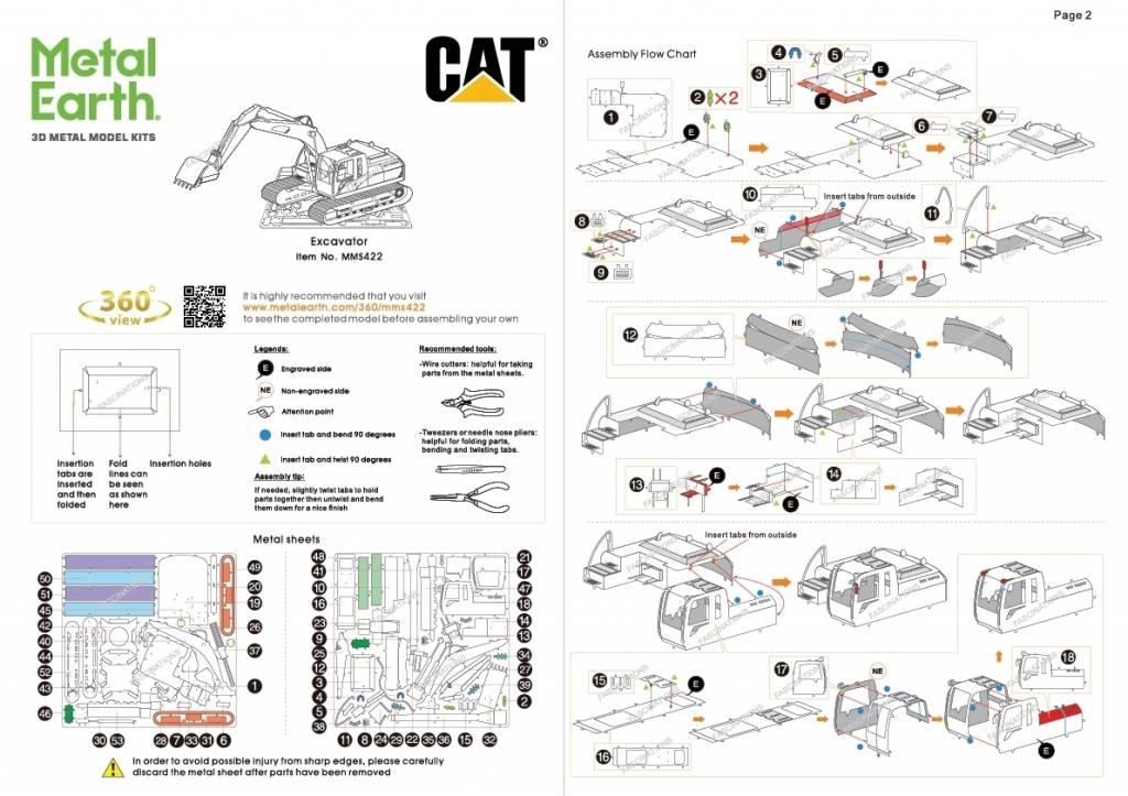 CAT Excavator  2 S.