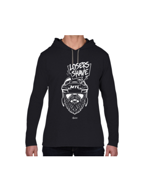 iBuzzz Losers Shave Sweater - Unisex