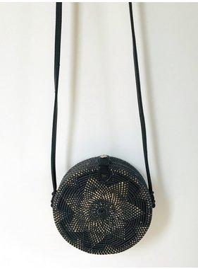 Rattan Clara bag - Black