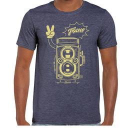 iBuzzz 1 T-shirt Camera Focus - Unisex
