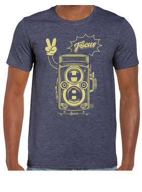 iBuzzz 1 T-shirt Camera Focus - Unisex