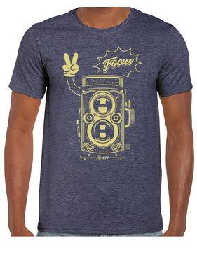 iBuzzz T-shirt Caméra Focus - Unisexe