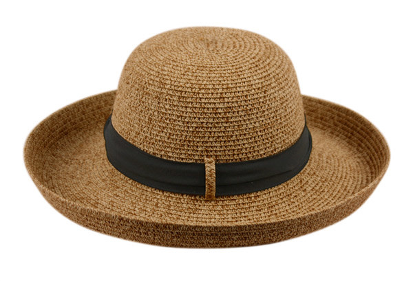 PAPER STRAW SUN BUCKET HATS