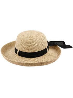 PAPER STRAW SUN BUCKET HATS