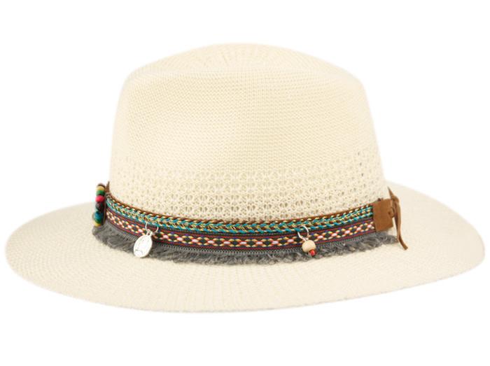 Chapeau Fedora avec pierres