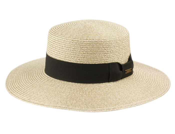 Hat wide brim Boater