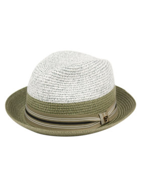 MEN Hat Two tone RICH BR F4007