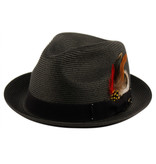 MEN Fedora Hat and feather