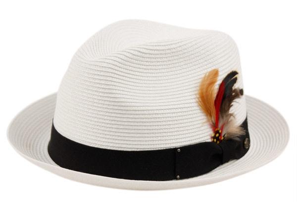 Chapeau plume Fedora pour  homme