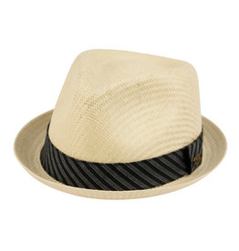 MEN Hat Straw Fedora
