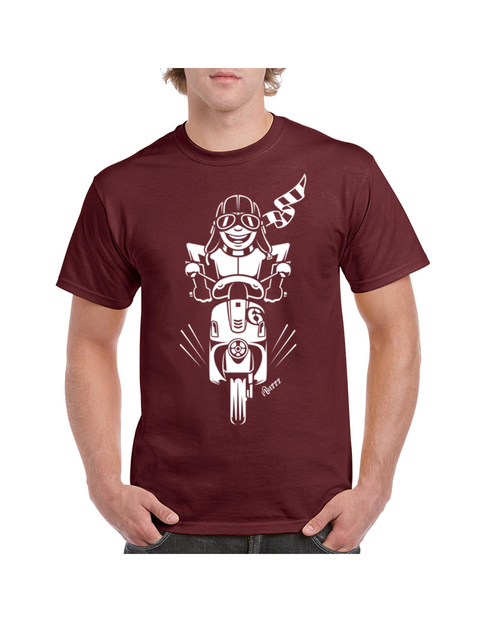 iBuzzz T-shirt Balade en Scooter