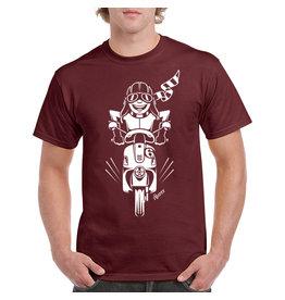 iBuzzz T-shirt Scooter ride - Unisex