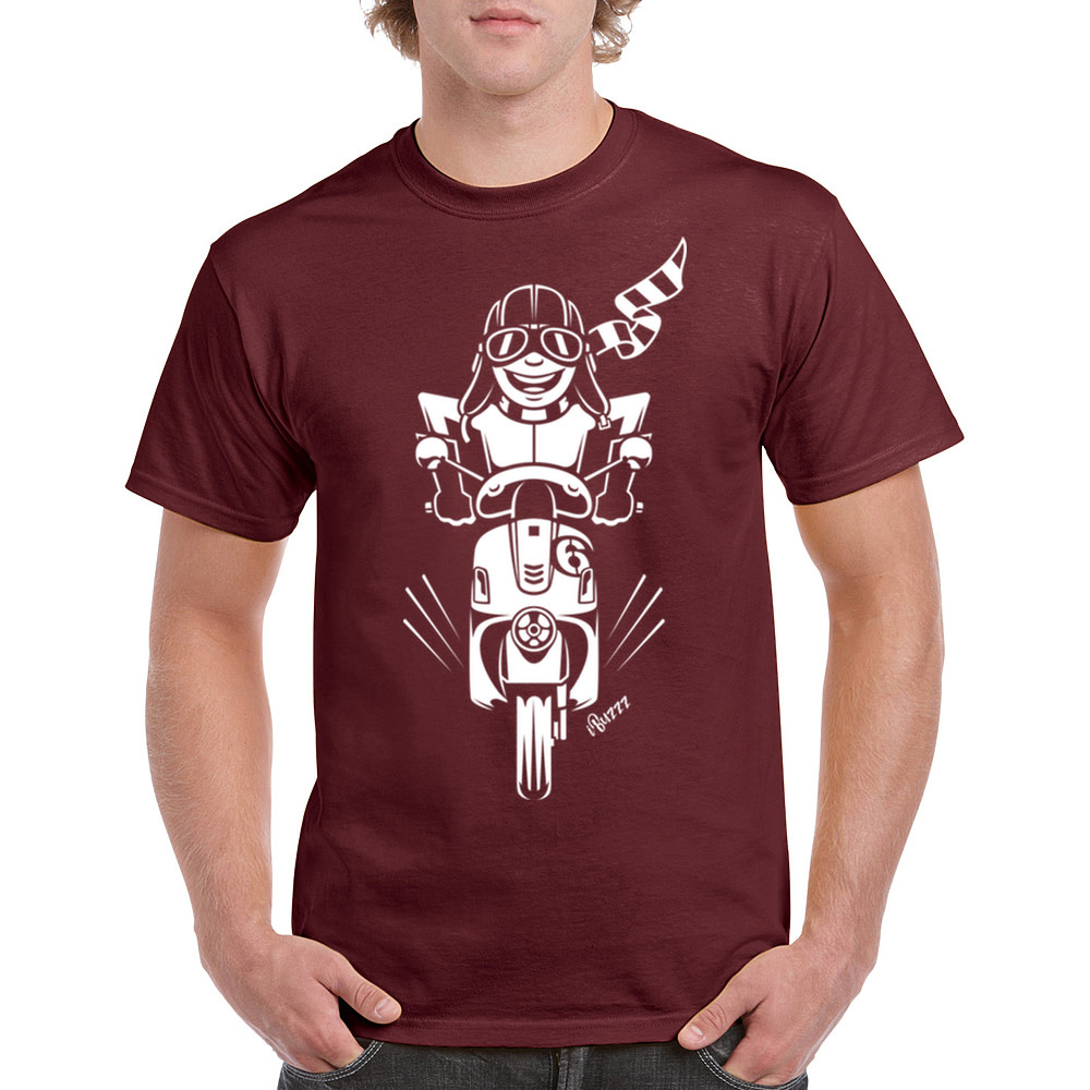 iBuzzz T-shirt Scooter ride