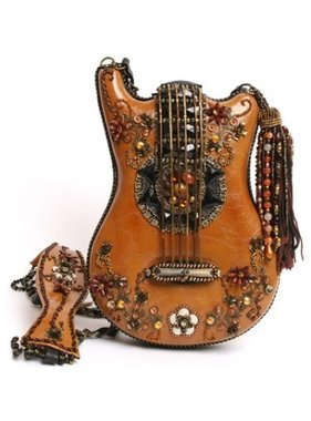 Mary Frances Handbags Hall of Fame Guitar Handbag