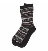 Alpaca PK 70% Alpaca Dress Socks - Black