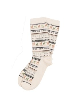 Alpaca PK 70% Alpaca Dress Socks - White