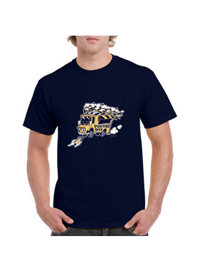 iBuzzz 1 T-shirt Foodtruck 911 Poutine - Unisexe