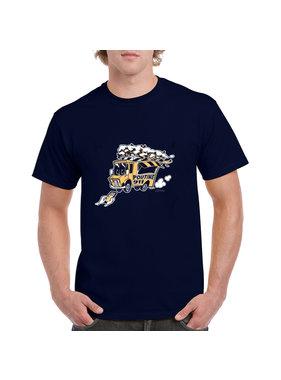 iBuzzz T-shirt 911 Foodtruck Poutine - Unisex
