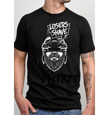 iBuzzz Cotton T-shirt Losers Shave
