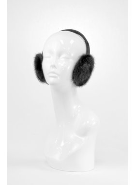 Mitchie's matchings BLACK MINK EARMUFF