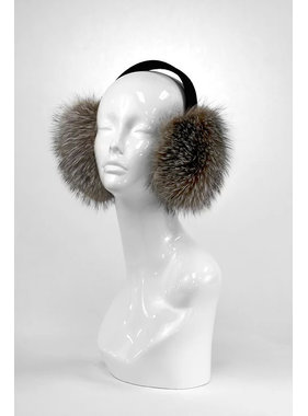 Mitchie's matchings CRYSTAL INDIGO BROWN EARMUFF EM615F