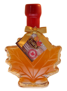 Érable 100% pure maple syrup 50 ml, leaf bottle and Sealed with Wax B13