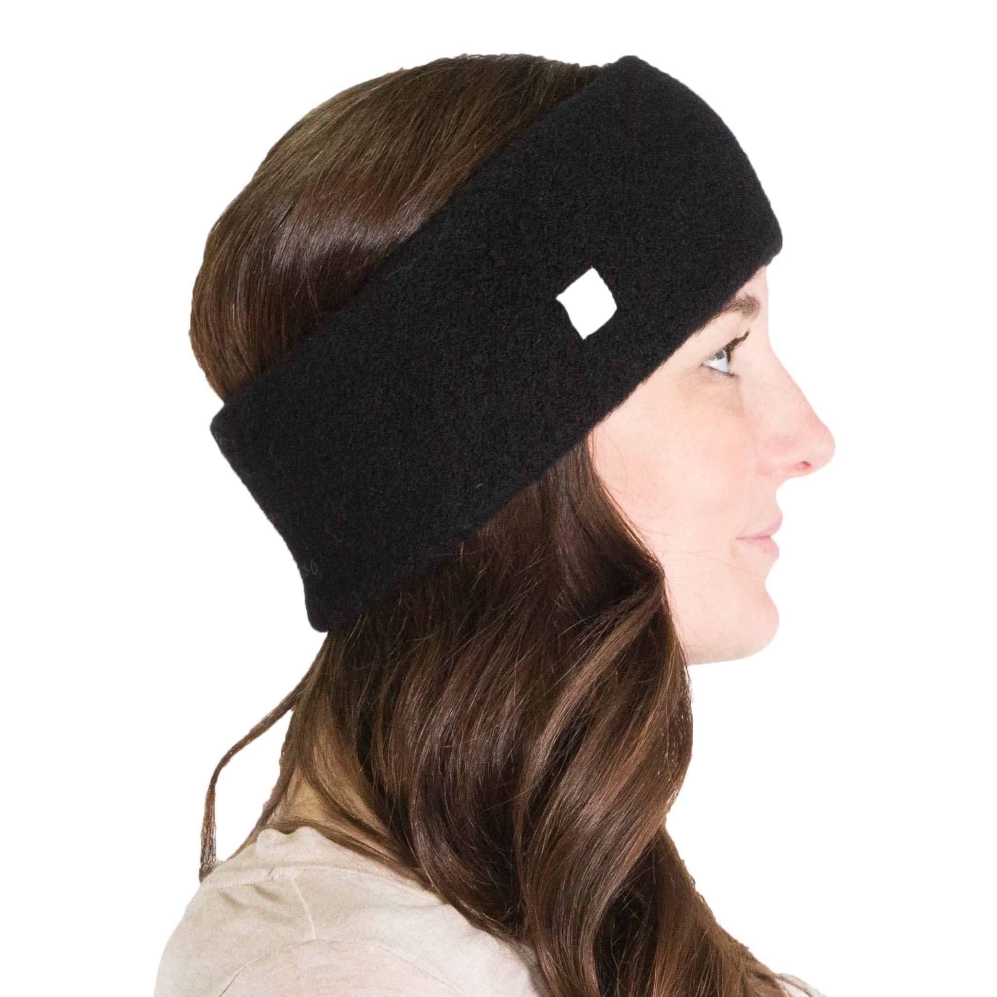 Alpaca PK Baby Alpaca Headband - Black