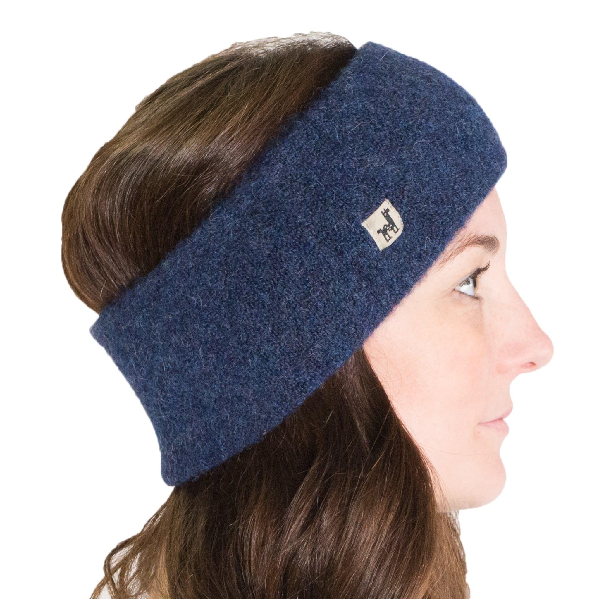 Alpaca PK Baby Alpaca Headband - Denim