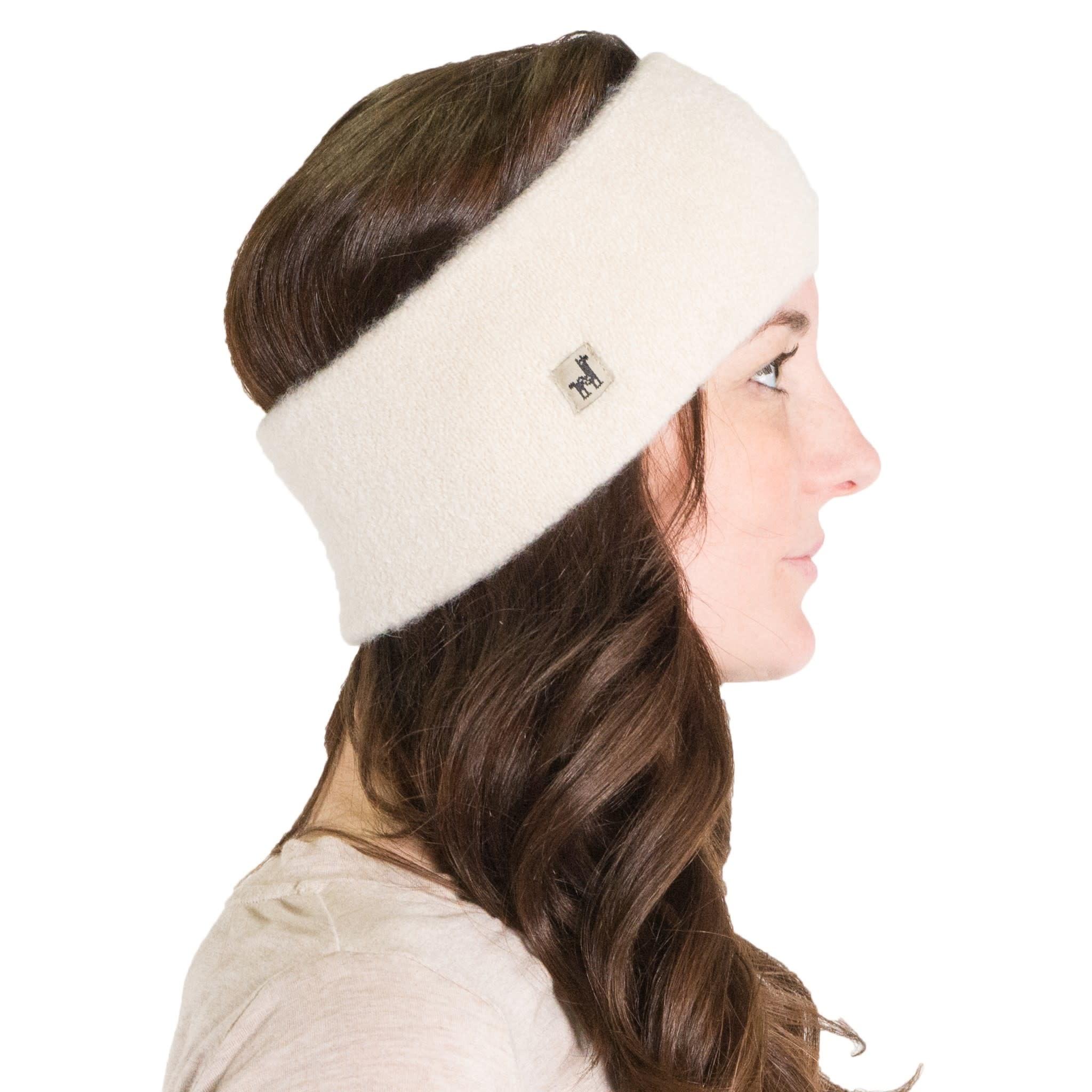 Alpaca PK Baby Alpaca Headband - Ivory
