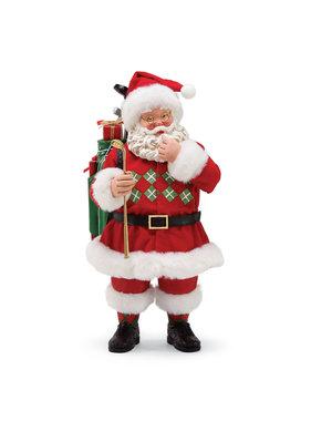 Figurine Père Noël Golf - Édition limitée