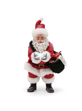 Figurine flocons de neige Père Noël - Édition limitée