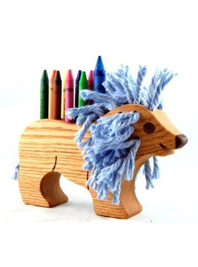 Alain Mailhot - Sculpteur Lion - Wax Crayon holder