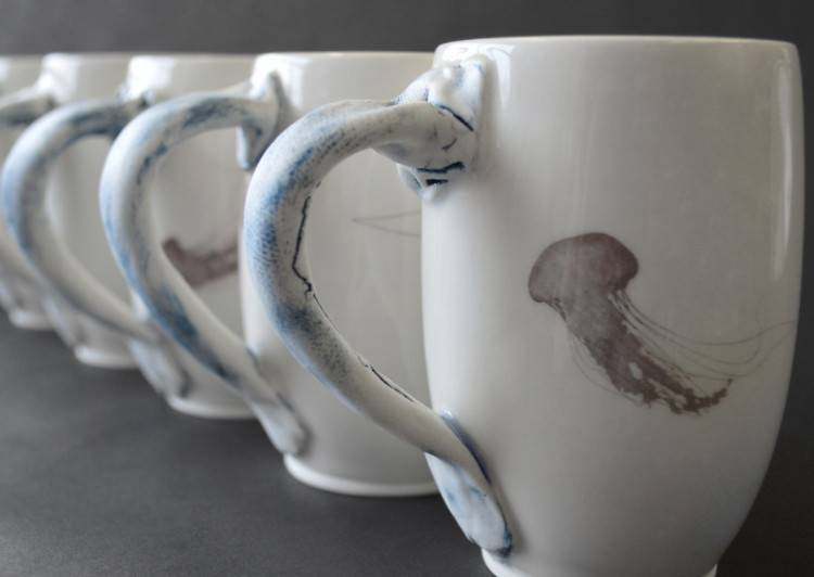 Catherine De Abreu 1 Big cup Jellyfish
