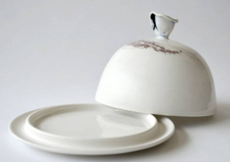 Catherine De Abreu Butter dish - Jellyfish