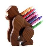Alain Mailhot - Sculpteur Porte-crayon de cire - Gorille