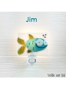 Veille sur toi Fish Night light