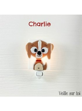 Veille sur toi Veilleuse Charlie