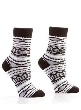 Tribal Leader, Women's Crew Sock, Aztec