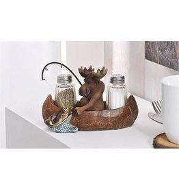 Salt Pepper Shakers Moose 085470