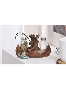 Salt Pepper Shakers Moose 085470