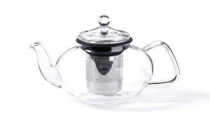Glass Teapot w/ Stainless Steel Infuser